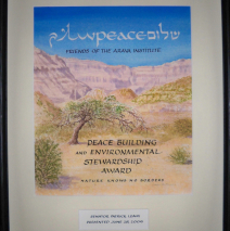 Arava Institute Award