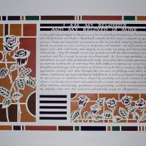 Papercut Roses