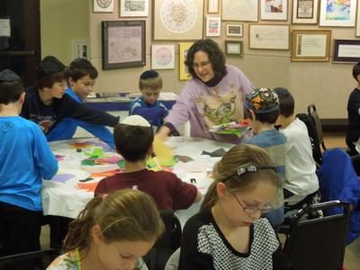hebrew school art class