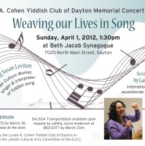 Dayton Concert with Lauren Brody