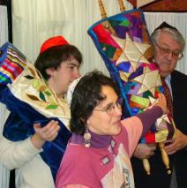 Torah Dedication – New Mantles at Dickinson College
