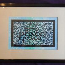 Peace Papercut