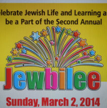 Jewbilee!  A Day of Learning