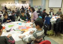 caldwell children's art class