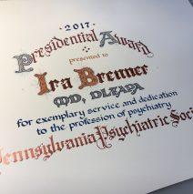 Engravers' Arts Certificate