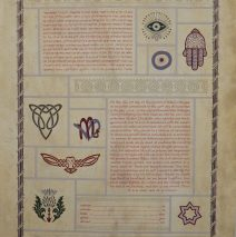 Blended Cultures Ketubah